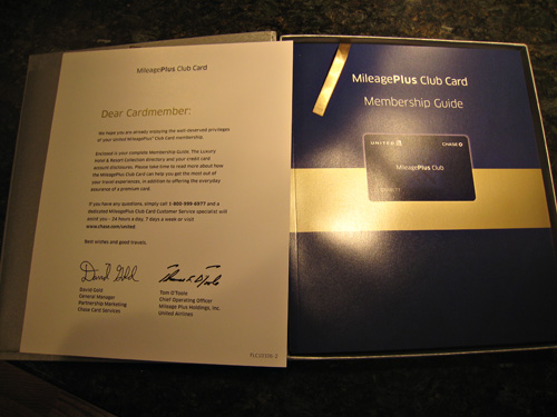 The new united mileageplus club card from chase the hustle blog i plan on utilizing this card for all its worth for this first year because i doubt ill renew it come next year finally here are a few pics chase colourmoves