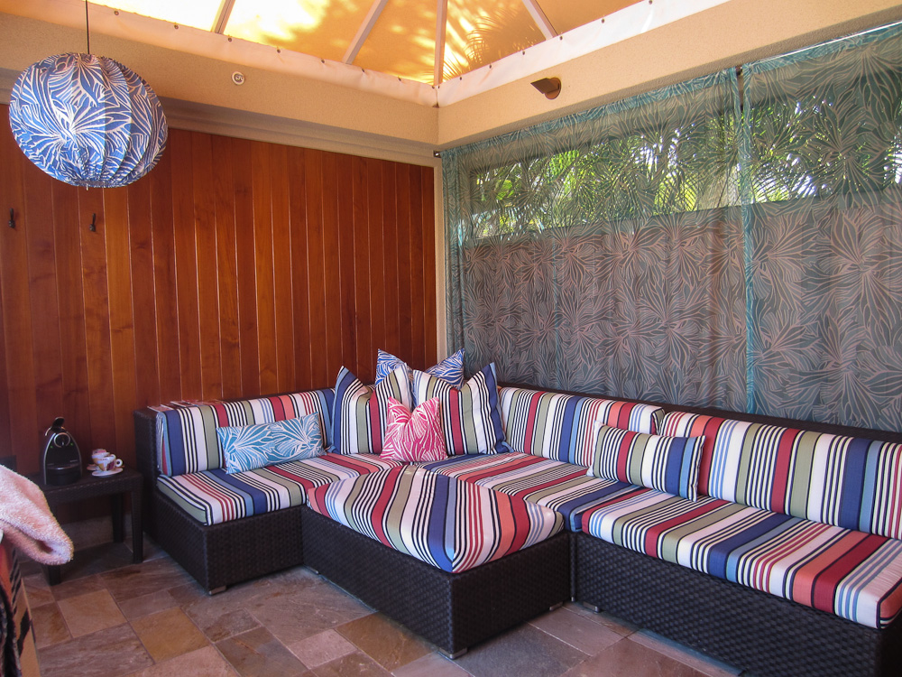 Missoni cabana at Four Seasons Maui at Wailea