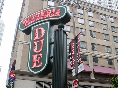 Pizzeria Due uno chicago