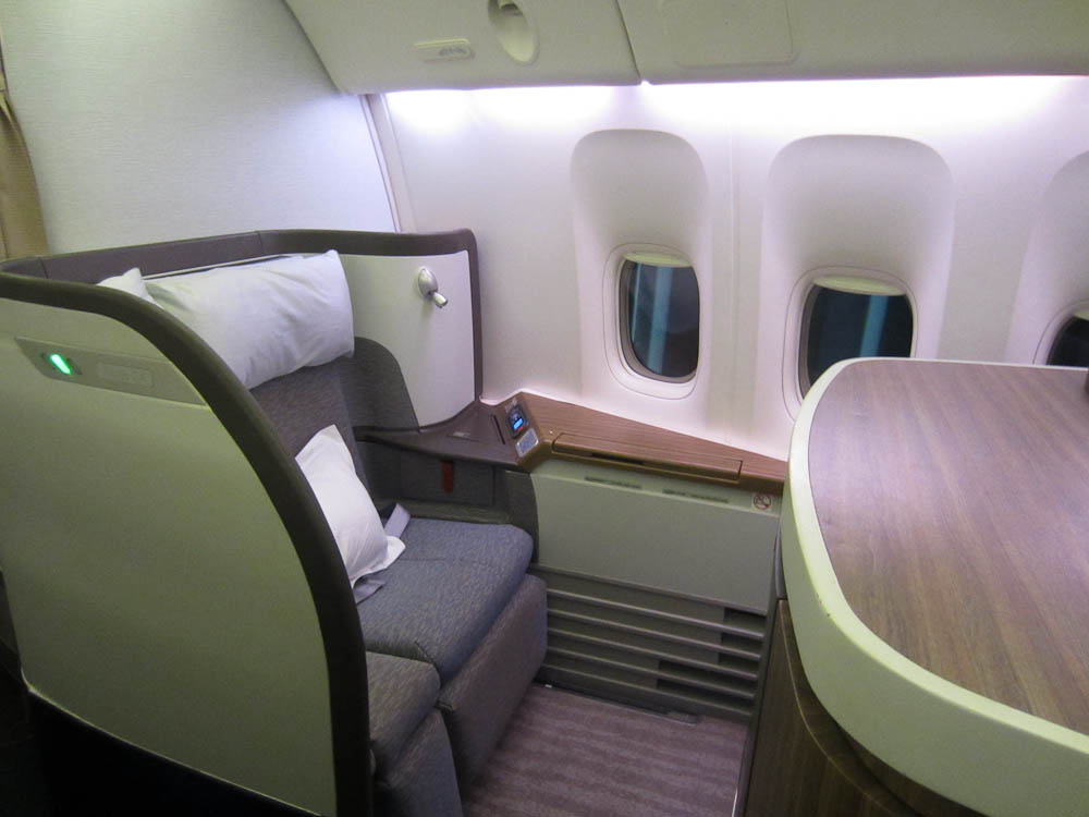 Cathay Pacific First Class 2013
