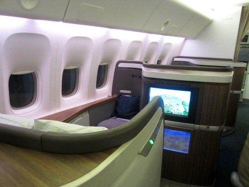 cathay pacific first class jfk hkg hong kong bali