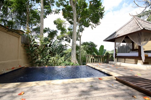 Valley Pool Villa at Komaneka at Tanggayuda