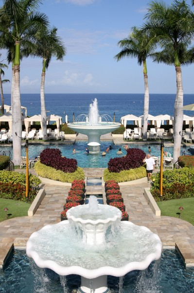 Four Seasons Maui Fountain