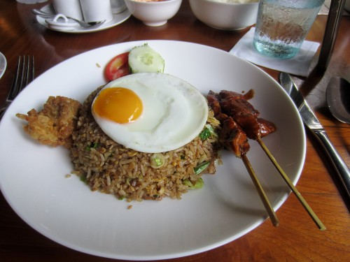 Good old nasi goreng
