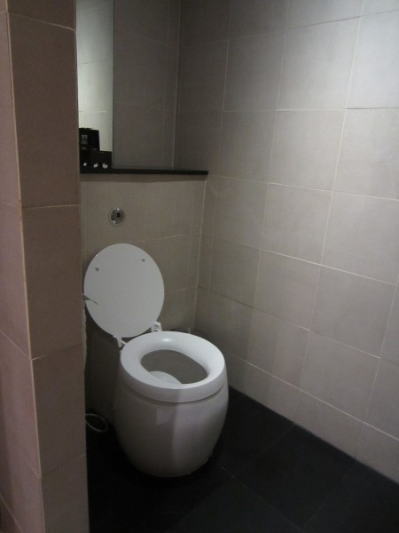 Full bathroom facilities as well