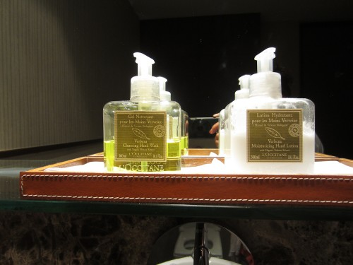L'Occitane amenities again