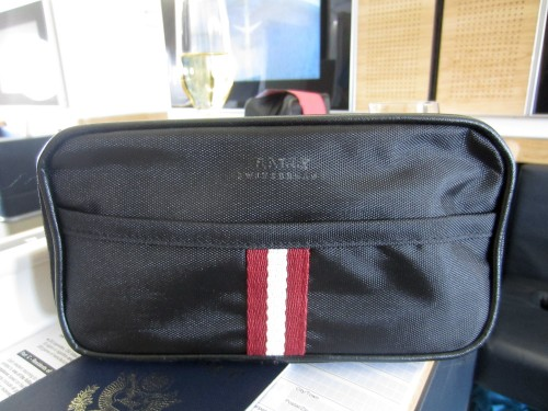 Bally's amenity kit