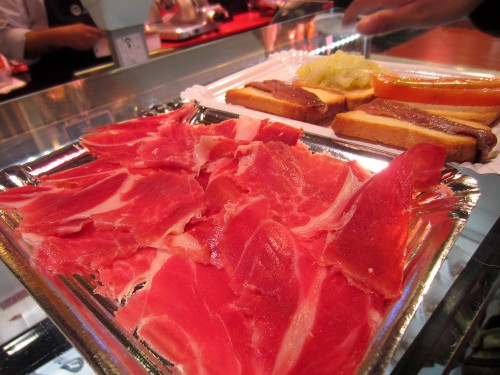 Beautiful jamón ibèrico