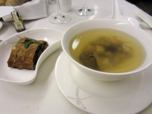 Vegetarian Duck & Soup