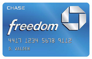 Chase Freedom 4th Quarter 2014 – 5x Points at Amazon & Department Stores