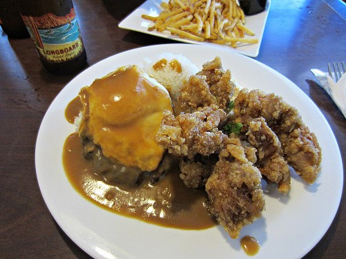 Loco Moco / Tasty Chicken Plate - The Alley