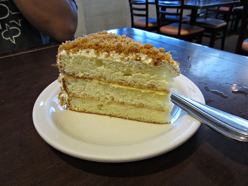 Lemon Crunch Cake - The Alley