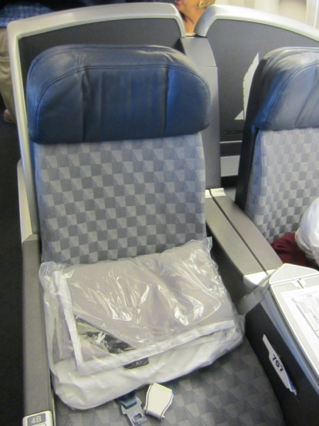 American Airlines 763 First Class Seat