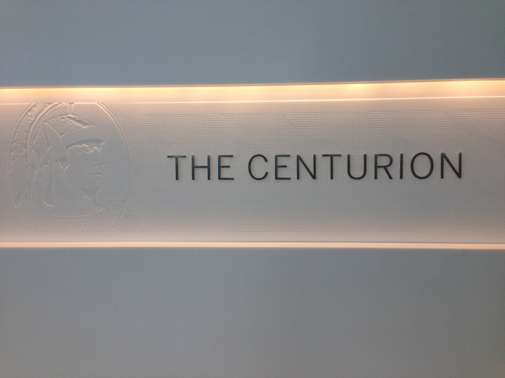 The Newest American Express Centurion Lounge
