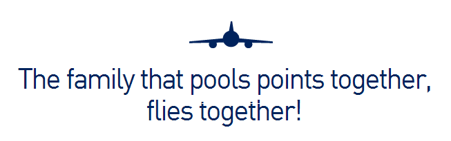 JetBlue Family Pooling Program
