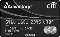Citi Executive AAdvantage World Elite MasterCard 100,000 Miles Offer
