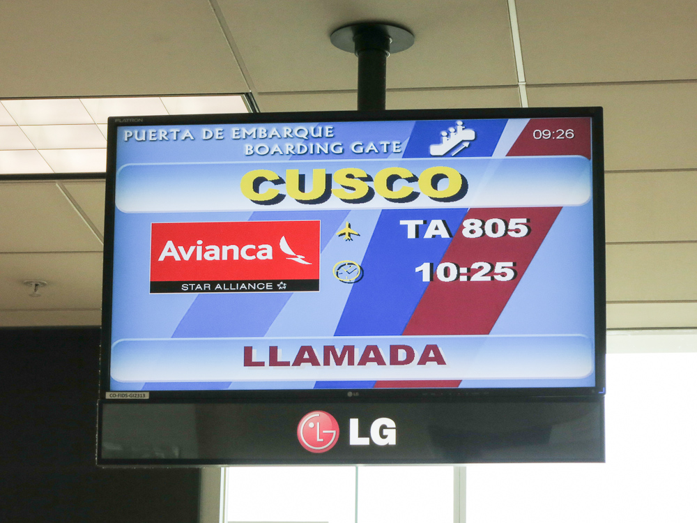 A Machu Picchu Anniversary: Avianca Business Class Lima – Cusco