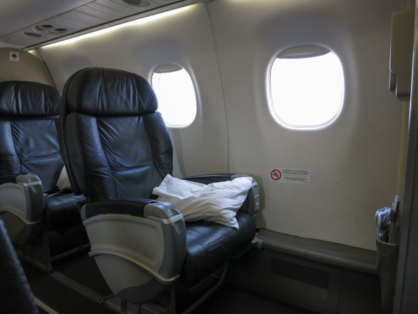 Avianca E-190 Business Class to Cusco